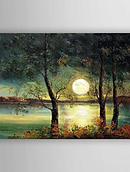 cheap -Oil Painting  Landscape Hand Painted Canvas with Stretched Framed Ready to Hang