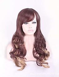 economici marrone bionda miscela parrucche delle donne colore del corpo di stile dell'onda