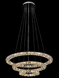 cheap -Pendant Light Ambient Light - Crystal LED, Modern / Contemporary, 110-120V 220-240V, Warm White Cold White, Bulb Included