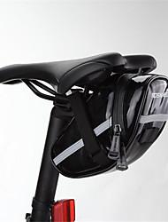 preiswerte -ROSWHEEL® FahrradtascheFahrrad-Sattel-Beutel Wasserdicht / Stoßfest / tragbar / Multifunktions Tasche für das Rad PU Leder / Stoff