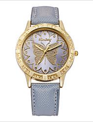Жен. Модные часы Кварцевый Цифровой Повседневные часы PU Группа Черный Белый Оранжевый Серый Розовый Фиолетовый Роуз