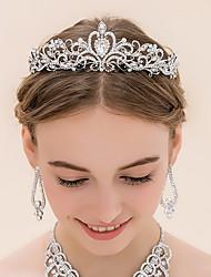 abordables -rhinestone alloy tiaras headpiece elegante estilo femenino clásico