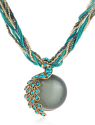 Necklace Choker Necklaces Jewelry Wedding / Party / Daily Bohemia Style Resin Green 1pc Gift