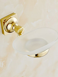 cheap -Soap Dishes & Holders Contemporary Brass 1 pc - Hotel bath