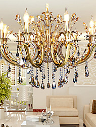 Charming 5 Modern/Contemporary Crystal / Candle Style Others Metal Chandeliers  Living Room / Bedroom / Part 24