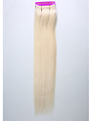 cheap -1PC TRES JOLIE Remy Yaki 14Inch Color 613 Human Hair Weaves