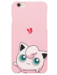 tasca piccolo mostro jiggly soffio 4,7 iphone 6 / 6S copertura del cellulare stuoia dura pollici