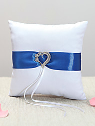 cheap -Royal Blue Sash Ring Pillow The Wedding Store Classic Theme Wedding & Party
