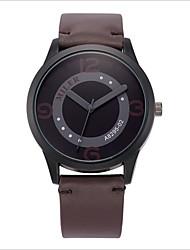 Недорогие -Женские Для пары Модные часы Повседневные часы Кварцевый Цифровой PU Группа Черный Оранжевый Серый