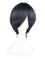 cheap -Cosplay Wigs Black Butler Ciel Phantomhive Blue / Gray Short Anime Cosplay Wigs 32 CM Heat Resistant Fiber Male / Female