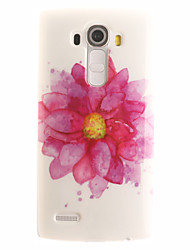 Flower Painting Pattern TPU Soft Case for LG G4/G4Mini/G4C/G3Mini/G3