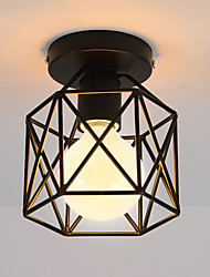 cheap -Vintage Loft Simple mini Ceiling Lamp Flush Mount lights Entry Hallway Game Room Kitchen light Fixture