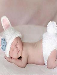 cheap -Baby Girls' Sweater & Cardigan,Cotton All Seasons Sleeveless White