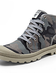 Men's Shoes Canvas Outdoor / Work & Duty / Athletic / Casual Boots Outdoor / Work & Duty