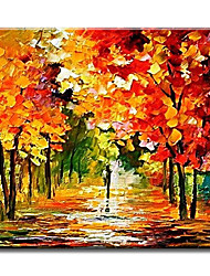 Handpainted Modern Hang Art Beautiful Scenery Oil Painting For Home Decor Abstractive Hang Picture