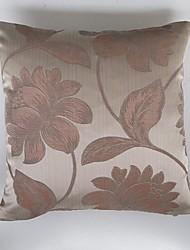 Satin Jacquard Cushion Cover-Pink