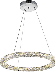 cheap -Round Ring LED Crystal Pendant Light Ceiling Chandeliers Lighting Lamp with 24W D50CM CE FCC ROHS