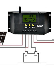 cheap -CM3024z  30A  12V/24V LCD Liquid Crystal  Display Solar Controller