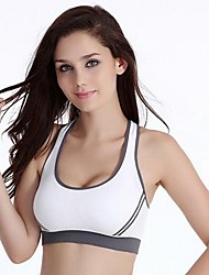 Full Coverage Bras,Seamless Sports Bras Fixed Straps Cotton Nylon
