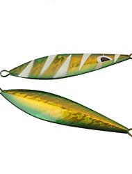 "1 pc Esca Esche rigide Esca metallica Rosso Giallo Verde vetro g/Oncia,115 mm/4-1/2"" pollice,MetalloPesca di mare Spinning Pesca a"