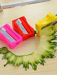 1pç Gadget de Cozinha Criativa Aço Inoxidável / Plástico Moedores de Vegetais