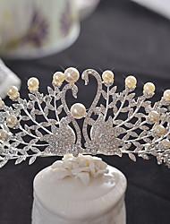 cheap -Alloy Tiaras Headpiece Wedding Party Elegant Classical Feminine Style