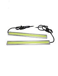 2 paia 6w 17 centimetri pannocchia luce di marcia diurna CC 12V luce auto impermeabile stile