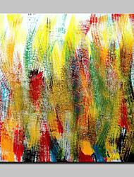 Недорогие -ручная роспись современной абстрактной масляной живописи на холсте настенного искусства для домашнего декора с растянутой рамой, готовой повесить