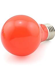 5W E27 Luz de Decoração A60(A19) 20 SMD 3020 450-500 lm Vermelho K Decorativa AC 100-240 V