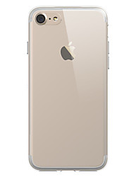 economico -Per iPhone X iPhone 8 iPhone 7 iPhone 7 Plus Custodie cover Transparente Custodia posteriore Custodia Tinta unica Morbido TPU per Apple