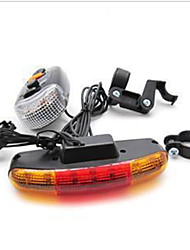 cheap -Bike Light,Bike Lights-1 Mode 100 Lumens Easy to Carry Otherx2 USB Cycling/Bike Black Bike