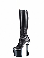 cheap -Women's Heels Fall / Winter Heels / Platform / Fashion Boots Patent Leather  / Party & Evening / Dress /Club sexy boots