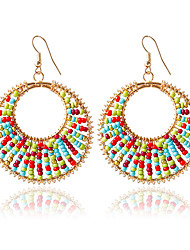 cheap -Women's Drop Earrings Fashion Alloy Circle Jewelry Wedding
