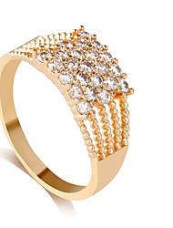 preiswerte -Damen Ring Silber Golden Aleación Personalisiert Stilvoll Hochzeit Party / Abend Modeschmuck