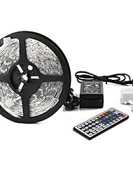 Other 5 M 300 5050 SMD RGB Wasserdicht / Fernbedienung / Verbindbar / Farbwechsel W Leuchtbänder RGB DC12 V