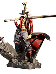 cheap -Anime Action Figures Inspired by One Piece Dracula Mihawk PVC 15 CM Model Toys Doll Toy