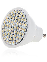 cheap -3W GU10 GX5.3 LED Spotlight MR16 60 SMD 2835 300-350lm Warm White Cold White 2700-6500K Decorative AC 220-240V