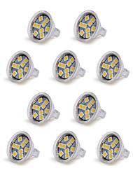 1.5W GU4(MR11) Faretti LED MR11 9 SMD 5050 100-150 lm Bianco caldo Luce fredda 3000/6000 K Decorativo DC 12 V