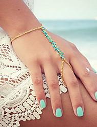 Ring Bracelets 1pc,Golden Bracelet Fashionable Irregular Alloy Jewellery