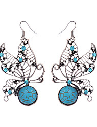 cheap -Women's Girls' Silver Plated Drop Earrings - Vintage Bohemian Animal For Daily Casual