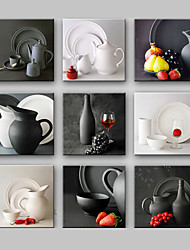 cheap -Still Life One Panel Square Print Wall Decor Home Decoration