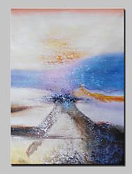 baratos -pintados à mão pinturas a óleo abstratas modernas no retrato da arte da parede da lona, com quadro esticado pronto para pendurar