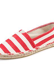 abordables -Unisexe Chaussures Sergé Printemps Automne Mary Jane Espadrilles Mocassins et Chaussons+D6148 Invalide Talon Plat Bout fermé Invalide /