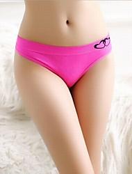 Ženy Jednobarevné Tisk Sexy kalhotky Slipy-Ženy Bavlna / Nylon