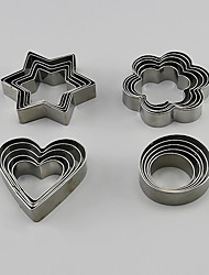 cheap -Cake Molds For Cookie Stainless Steel Baking Tool