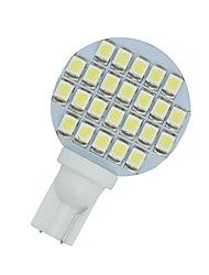 cheap -10 X White Car RV Landscaping T10 Wedge 24-SMD LED Light W5W 921 194 2825 168