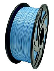 pla / abs impressão 3D prototipagem rápida caneta inteligente de graffiti suprimentos bobina (azul)