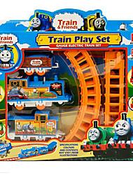 cheap -Thomas Train Track DIY Electric Rail Cars Children Educational Model Assembled Fancy Toys