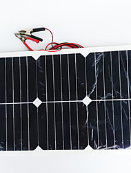 cheap -ZDM® 20W 12V Output 1.35A Monocrystalline Silicon Solar Panel(DC12-18V)