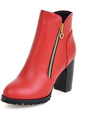 Women's Shoes Fashion Boots / Round Toe Boots Office & Career / Party & Evening / Dress / CasualChunky